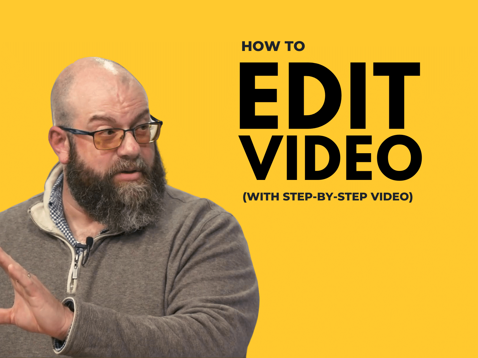 how to edit video header