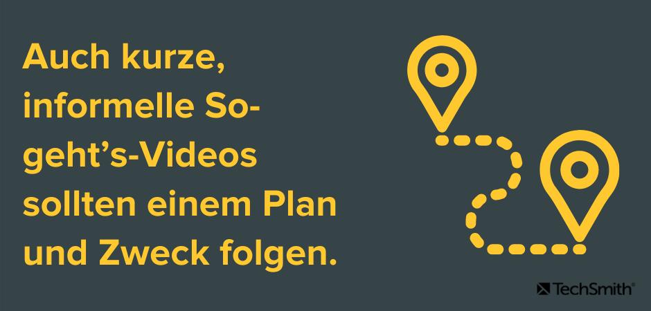 So-geht's-Videos folgen einem Plan und Zweck.