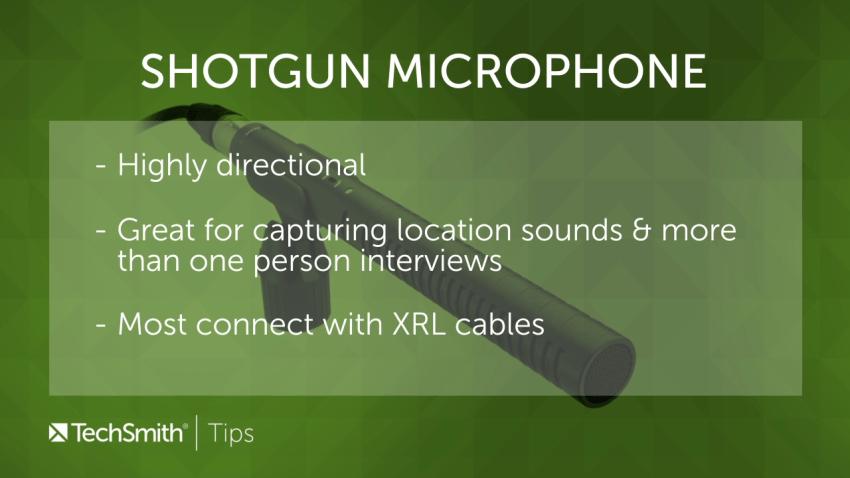 Informationen über Richtmikrofone